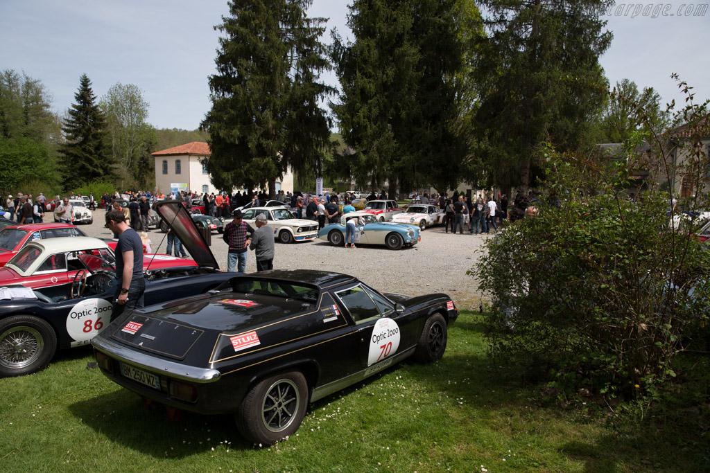 Lotus Europa Twin Cam - Chassis: 74-1397Q - Driver: Didier Henard / Patrick Tekian  - 2015 Tour Auto