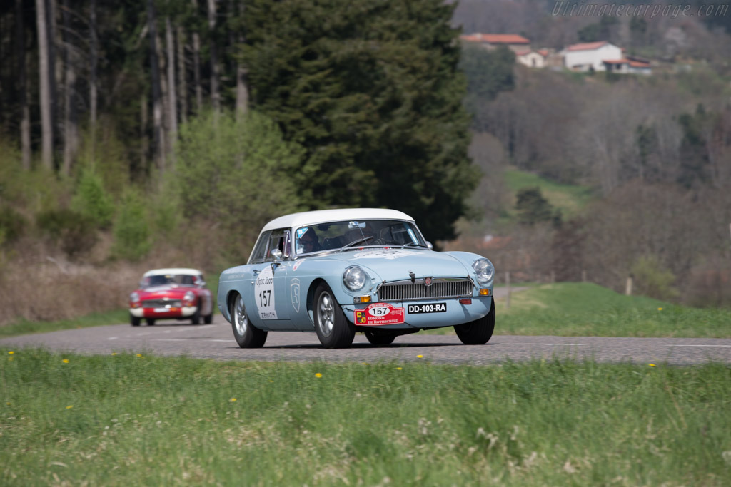 MGB - Chassis: GHN3L/71851 - Driver: Eugene Deleplanque / Ghislain Barrois  - 2015 Tour Auto