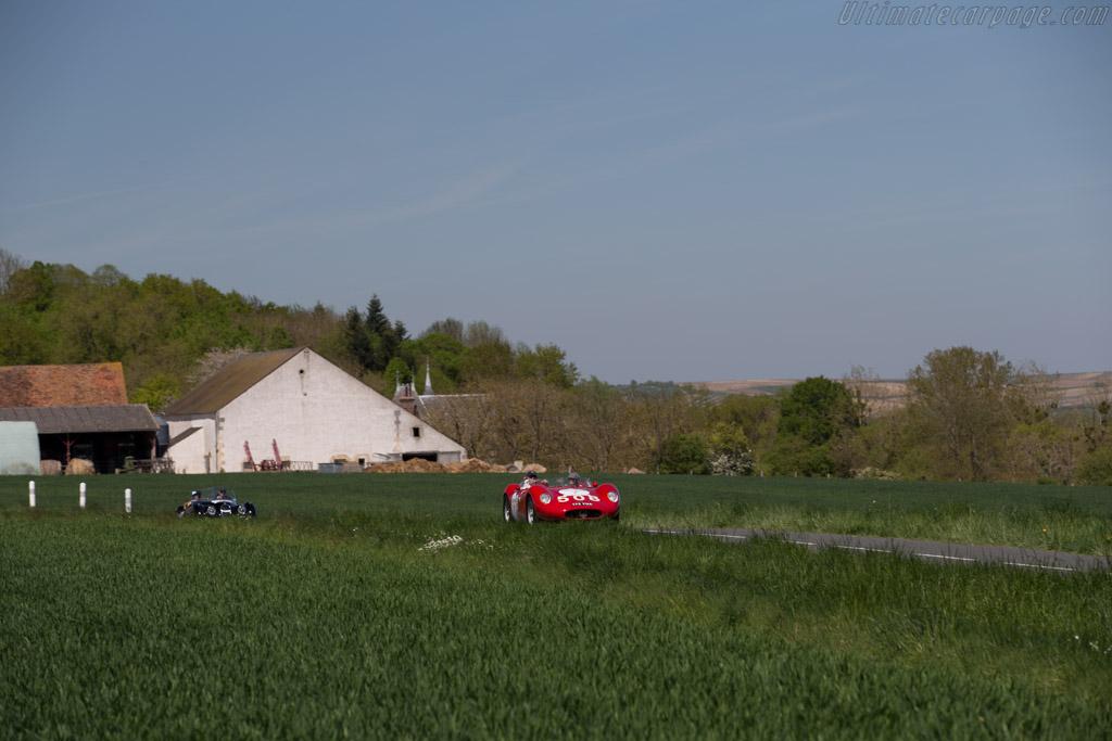 Maserati 200SI - Chassis: 2419 - Driver: Tomas Hinrichsen / Solange Mayo  - 2015 Tour Auto