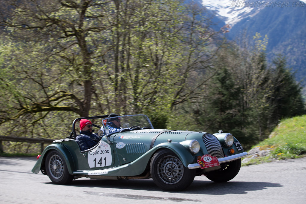 Morgan +8 - Chassis: R7376 - Driver: Jean-Pierre Mader / Jean-Michel Carriere  - 2015 Tour Auto