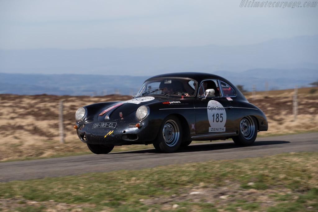 Porsche 356B - Chassis: 116554 - Driver: Franck Menard / Victor Menard  - 2015 Tour Auto