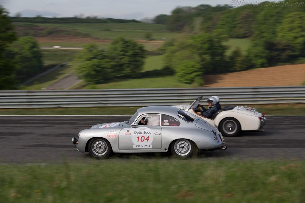 Porsche 356C  - Driver: Jean-Marc Huyghues Despointes / Charles de Bourbon-Parme - 2015 Tour Auto