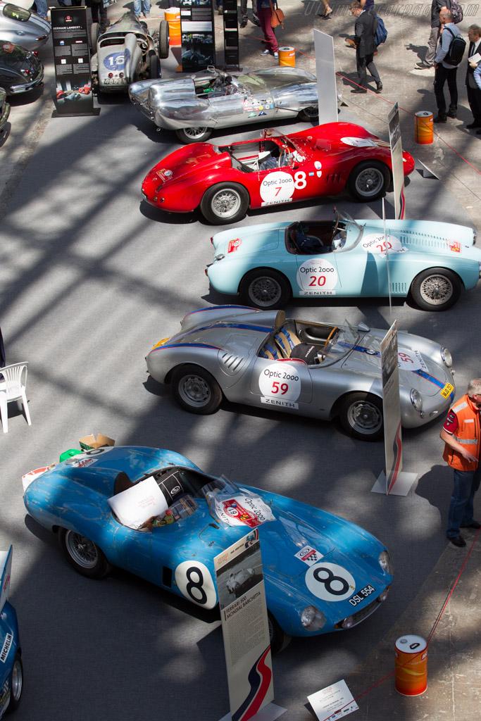 Porsche 550A - Chassis: 550A-0117 - Driver: Ricci / Frédéric Stoesser  - 2015 Tour Auto