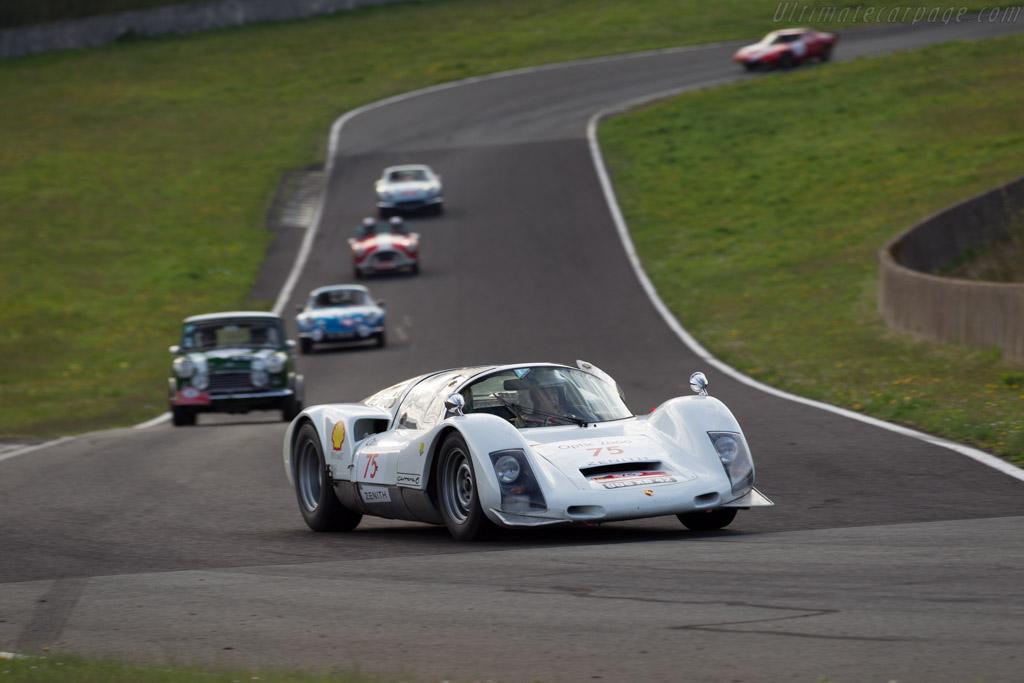 Porsche 906 - Chassis: 906-117 - Driver: Jean-Claude Pichon / Denis Giraudet  - 2015 Tour Auto