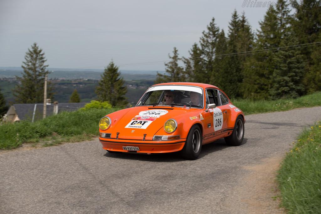 Porsche 911 2.5 ST - Chassis: 911 230 0013 - Driver: John Logan / Fred Hampton  - 2015 Tour Auto