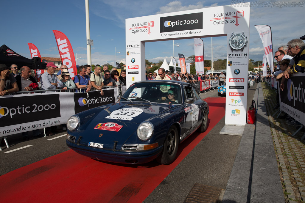 Porsche 911 - Chassis: 302036 - Driver: Stephan Koenig / Sophie Koenig  - 2015 Tour Auto