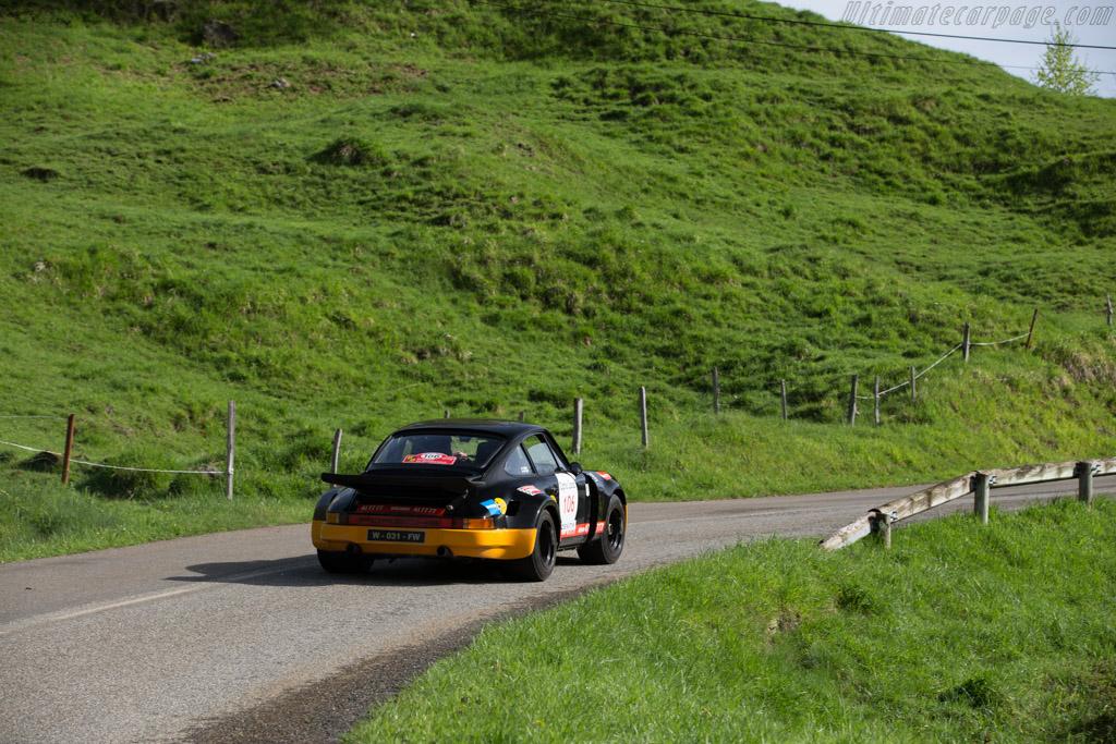 Porsche 911 Carrera RS 3.0  - Driver: Geoffrey Peter / Yvan Mahe  - 2015 Tour Auto