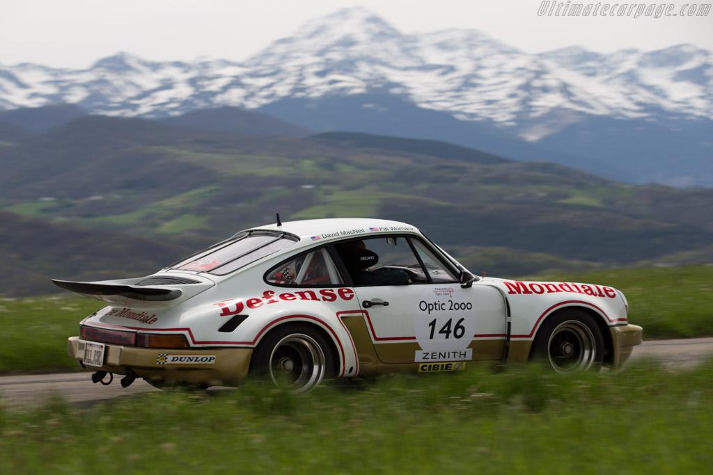 Porsche 911 Carrera RSR 3.0 - Chassis: 911 460 9087 - Driver: David MacNeil / Patrick Womack  - 2015 Tour Auto