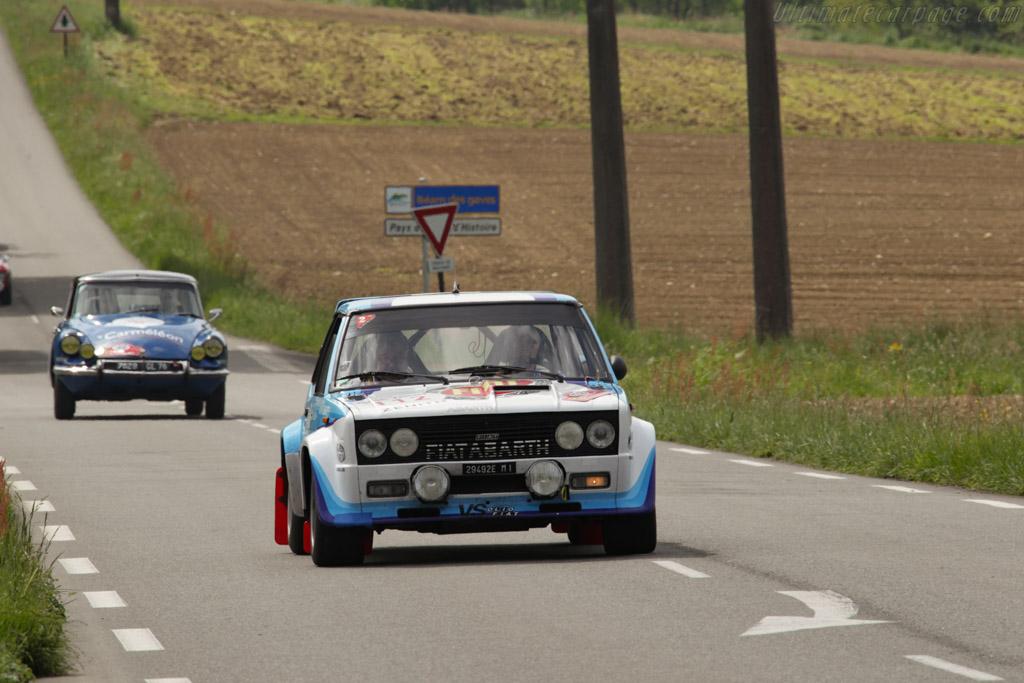 Triumph TR6 - Chassis: CC51895L - Driver: Marc Lubrano / Isabelle Pelletier  - 2015 Tour Auto