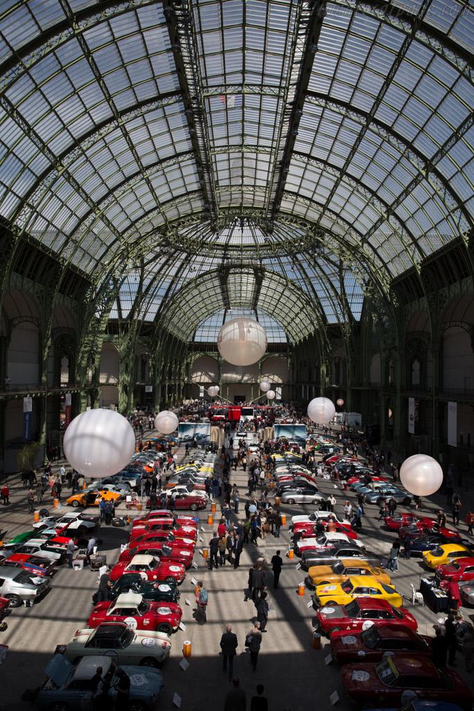 Welcome to the Grand Palais    - 2015 Tour Auto