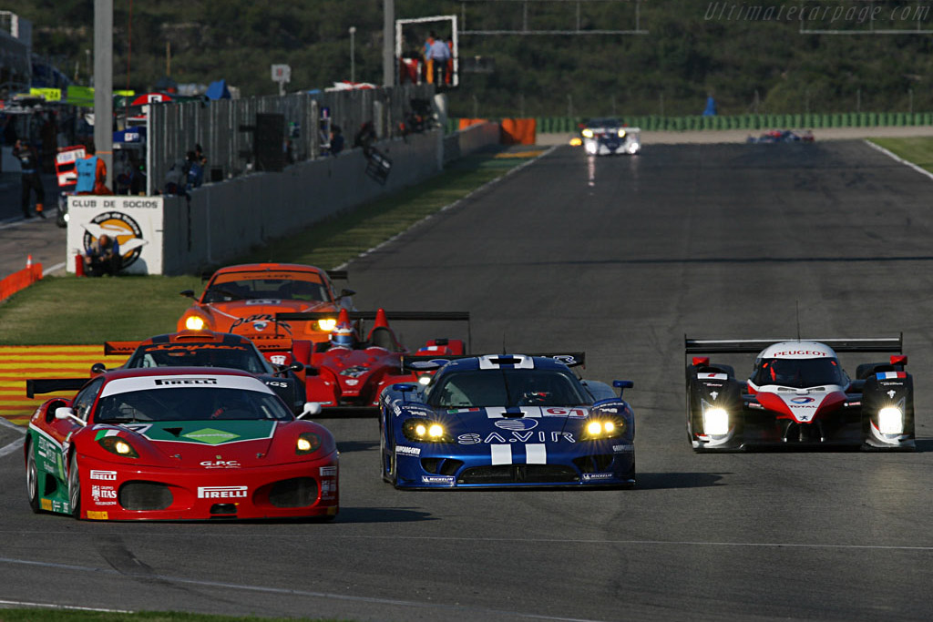 A very full field - Chassis: 2454 - Entrant: GPC Sport  - 2007 Le Mans Series Valencia 1000 km