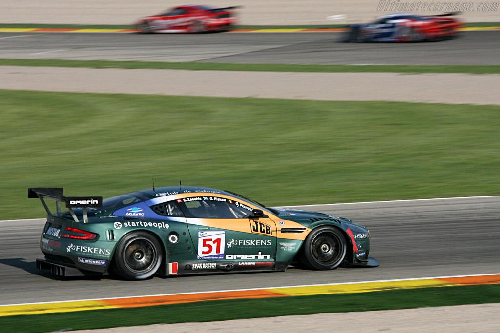 Aston Martin DBR9 - Chassis: DBR9/1 - Entrant: Aston Martin Larbre  - 2007 Le Mans Series Valencia 1000 km