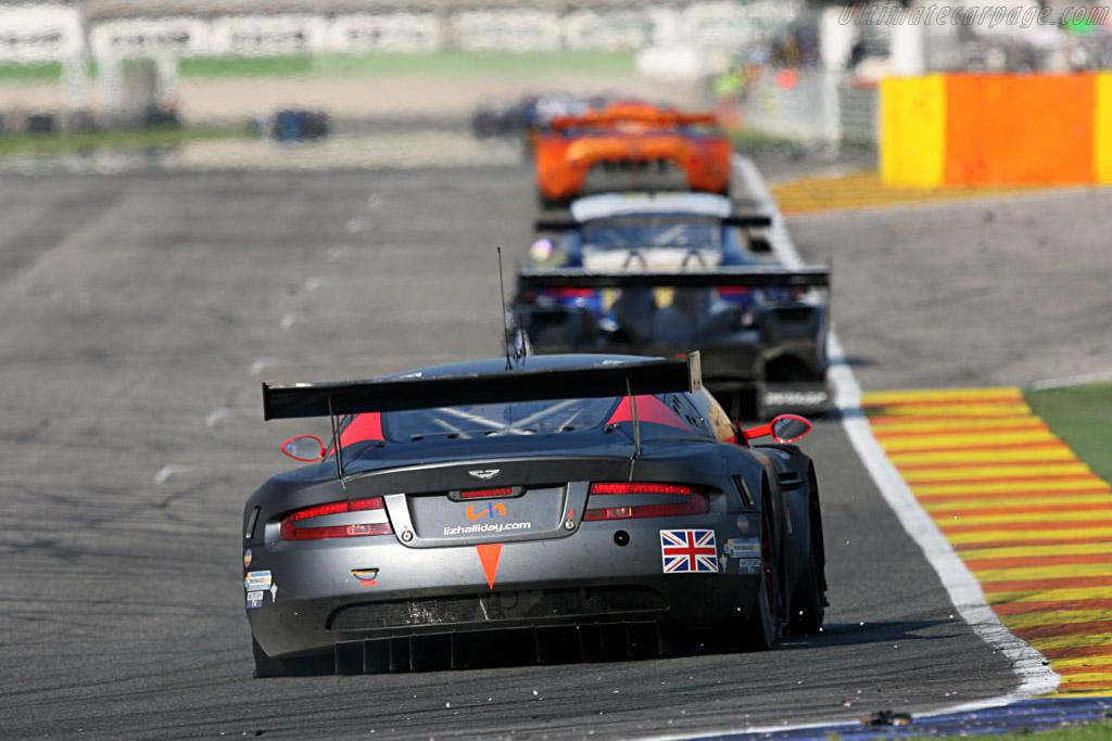 Aston Martin DBR9 - Chassis: DBR9/101 - Entrant: Team Modena  - 2007 Le Mans Series Valencia 1000 km