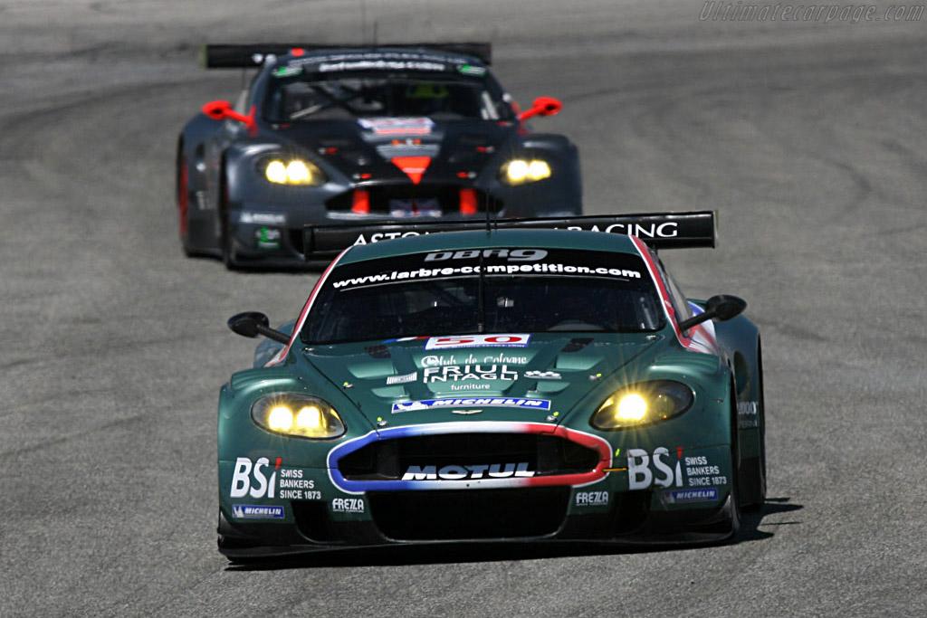 Aston Martin DBR9 - Chassis: DBR9/2 - Entrant: Aston Martin Larbre  - 2007 Le Mans Series Valencia 1000 km