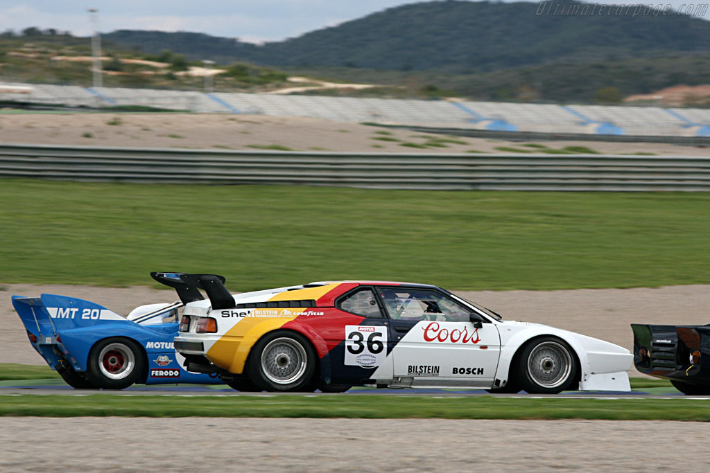 BMW M1 Procar - Chassis: 4301065   - 2007 Le Mans Series Valencia 1000 km