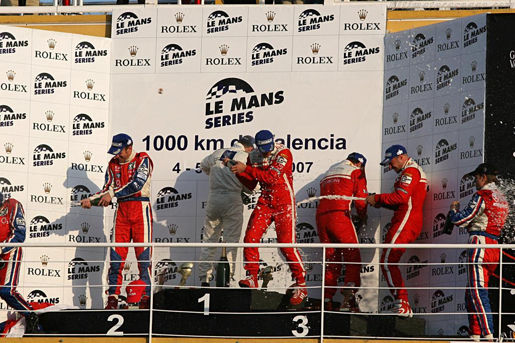 Champagne!    - 2007 Le Mans Series Valencia 1000 km