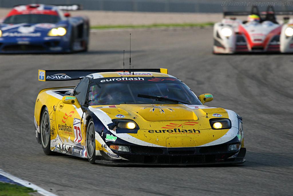 Chevrolet Corvette C5-R - Chassis: 010 - Entrant: Luc Alphand Adventures  - 2007 Le Mans Series Valencia 1000 km