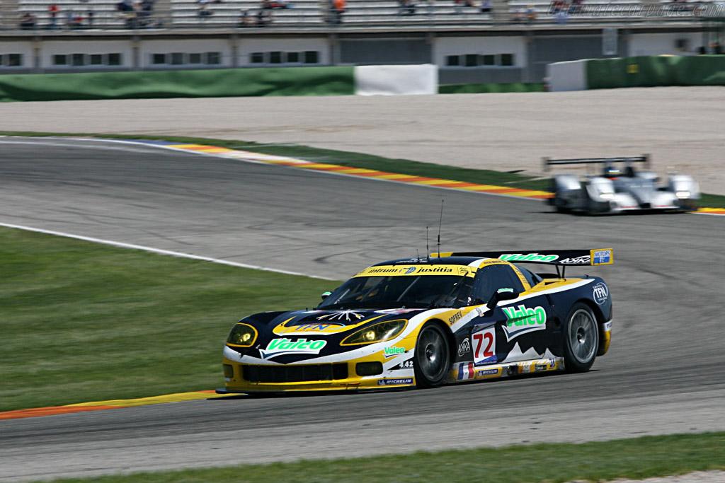 Chevrolet Corvette C6.R - Chassis: 004 - Entrant: Luc Alphand Adventures  - 2007 Le Mans Series Valencia 1000 km