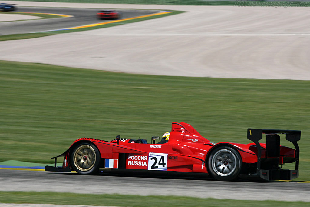 Courage LC75 AER - Chassis: LC70-1 - Entrant: Noel Del Bello Racing - 2007 Le Mans Series Valencia 1000 km