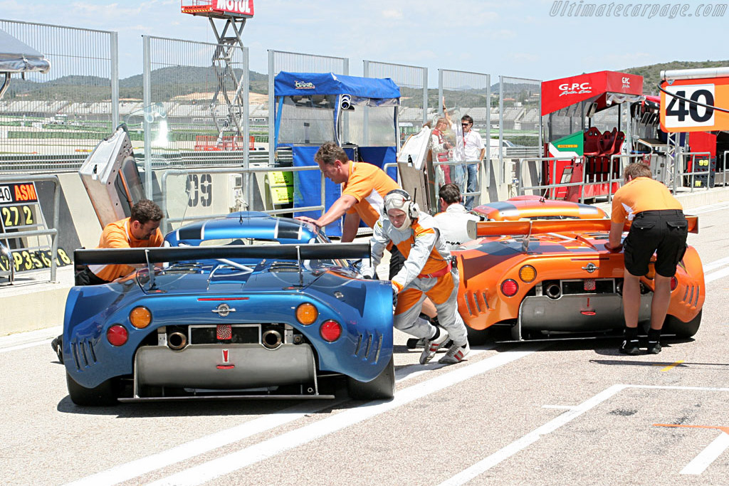 Done for the day - Chassis: XL9AB01G97Z363193 - Entrant: Speedy Racing Team  - 2007 Le Mans Series Valencia 1000 km