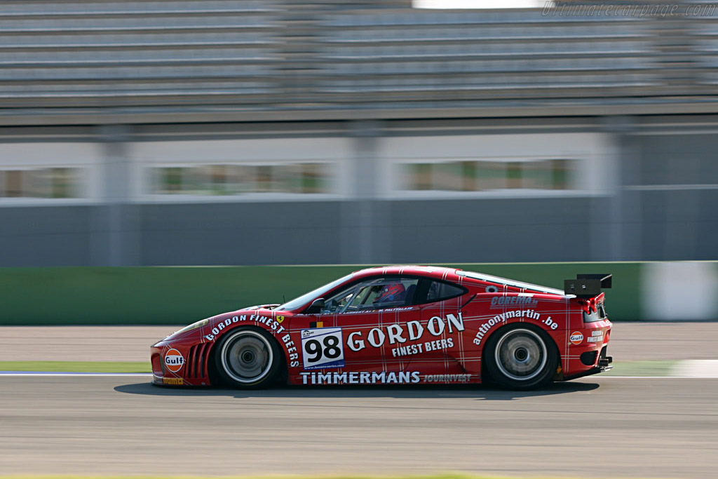 Ferrari F430 GTC - Chassis: 2452 - Entrant: Ice Pol Racing Team  - 2007 Le Mans Series Valencia 1000 km