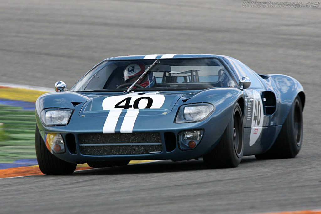 Ford GT40 - Chassis: GT40P/1078 - Driver: Claude Nahum  - 2007 Le Mans Series Valencia 1000 km