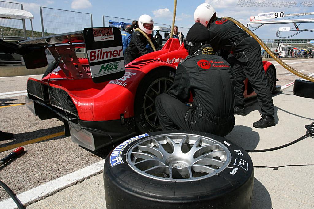 Fresh rubber - Chassis: 01 PB - Entrant: Pierre Bruneau  - 2007 Le Mans Series Valencia 1000 km
