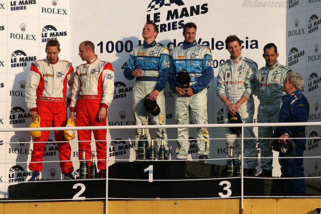GT2 Podium    - 2007 Le Mans Series Valencia 1000 km