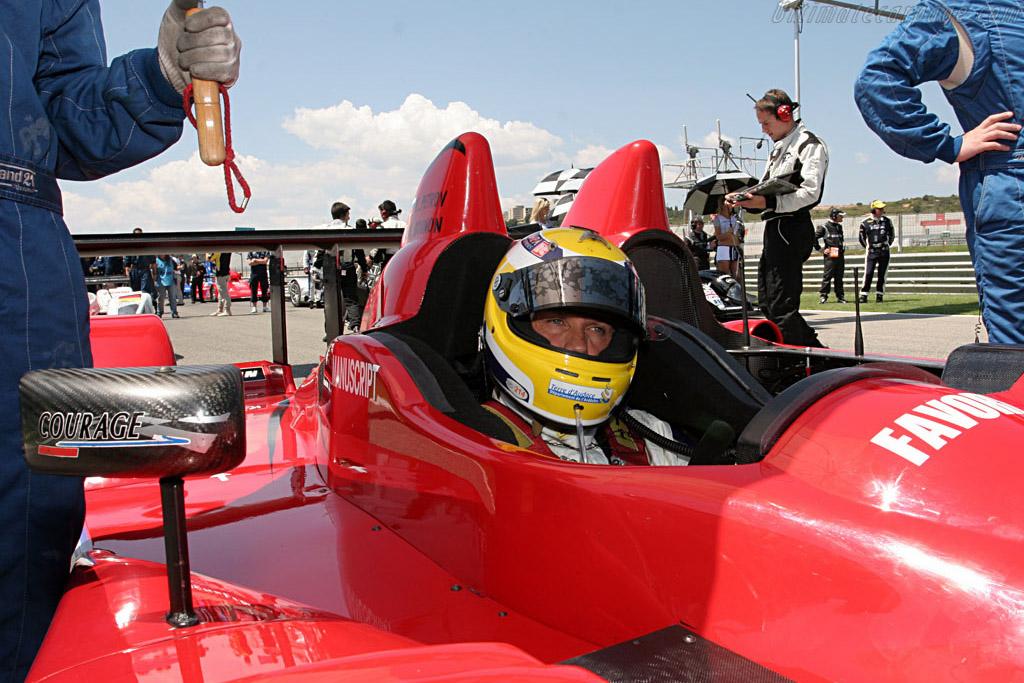 Gounon in unfamiliar territories - Chassis: LC70-1 - Entrant: Noel Del Bello Racing  - 2007 Le Mans Series Valencia 1000 km