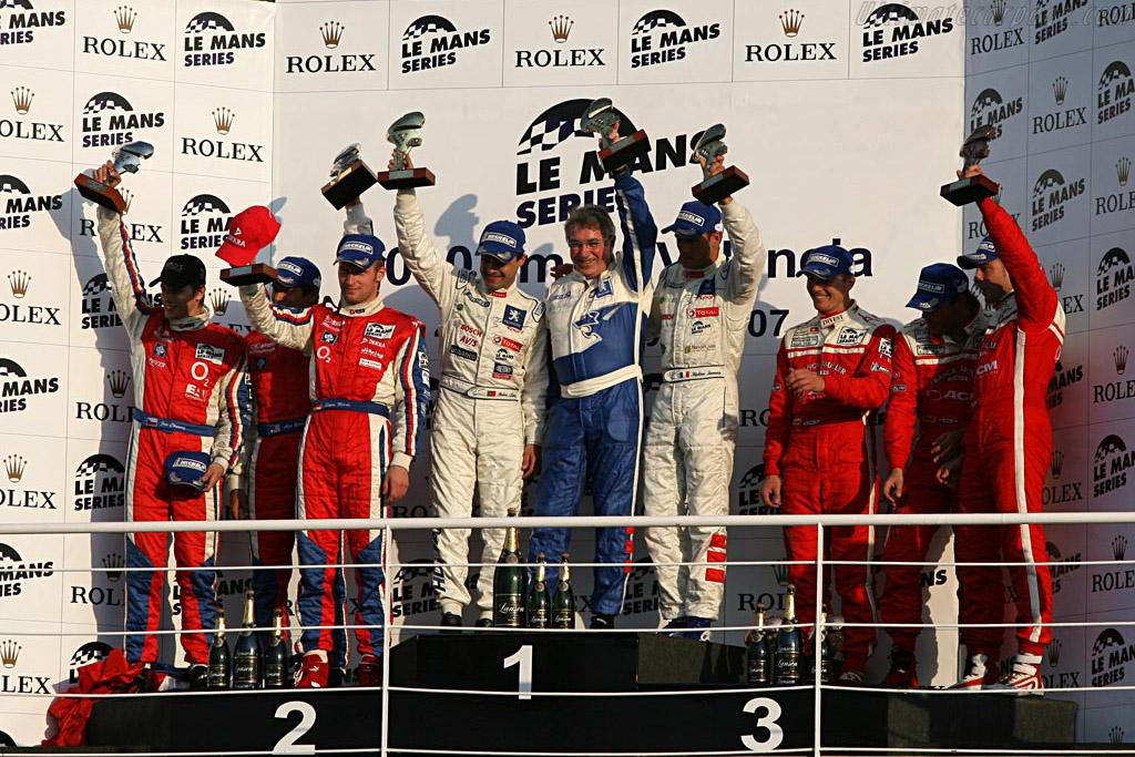 LMP1 Podium    - 2007 Le Mans Series Valencia 1000 km