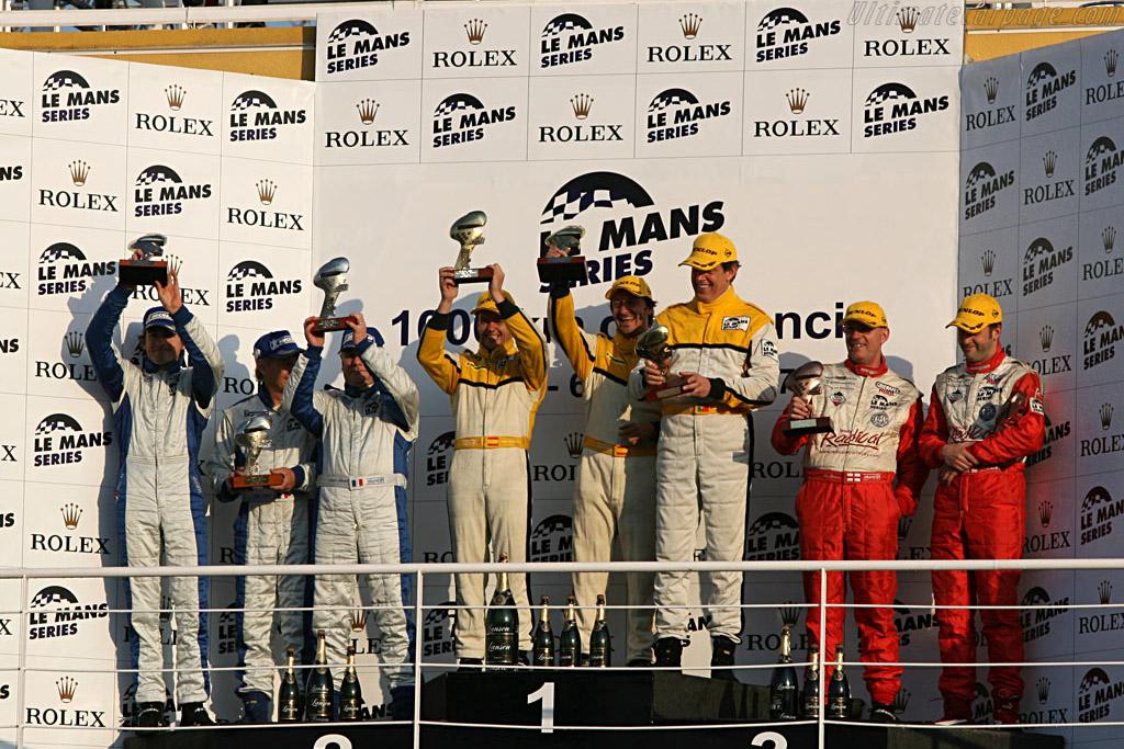 LMP2 Podium    - 2007 Le Mans Series Valencia 1000 km