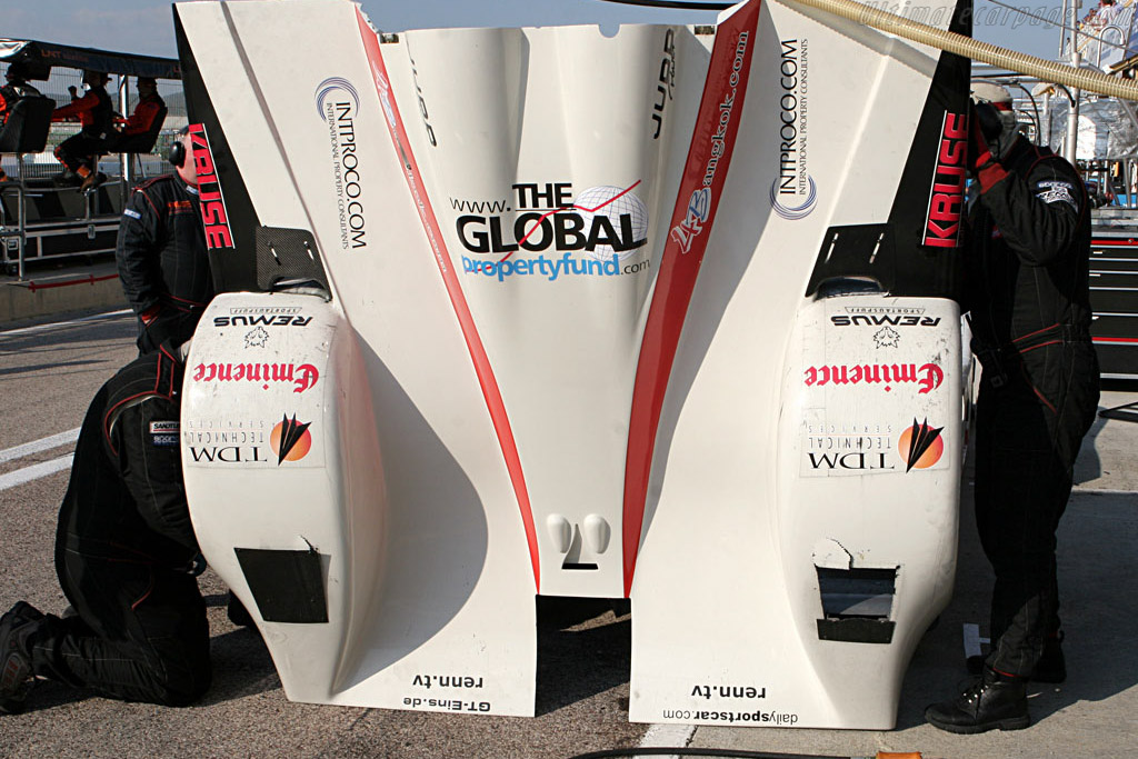 LMP2 problems - Chassis: 01-02 - Entrant: Kruse Motorsport  - 2007 Le Mans Series Valencia 1000 km
