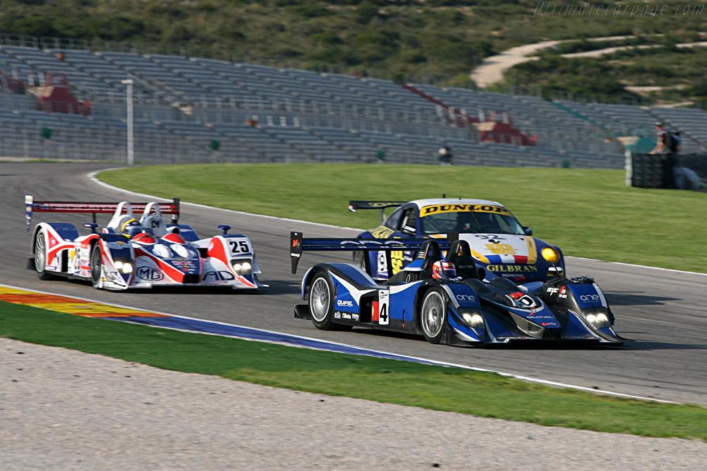 Lola B05/40 AER - Chassis: B0540-HU01 - Entrant: Quifel ASM Team  - 2007 Le Mans Series Valencia 1000 km