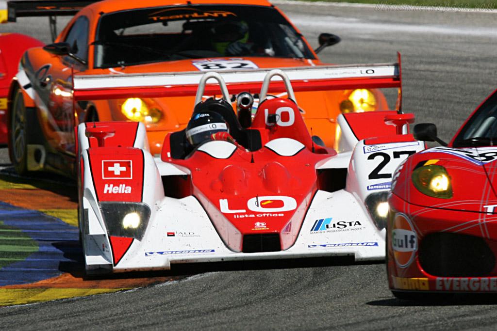 Lola B05/40 Judd - Chassis: B0540-HU06 - Entrant: Horag Racing  - 2007 Le Mans Series Valencia 1000 km