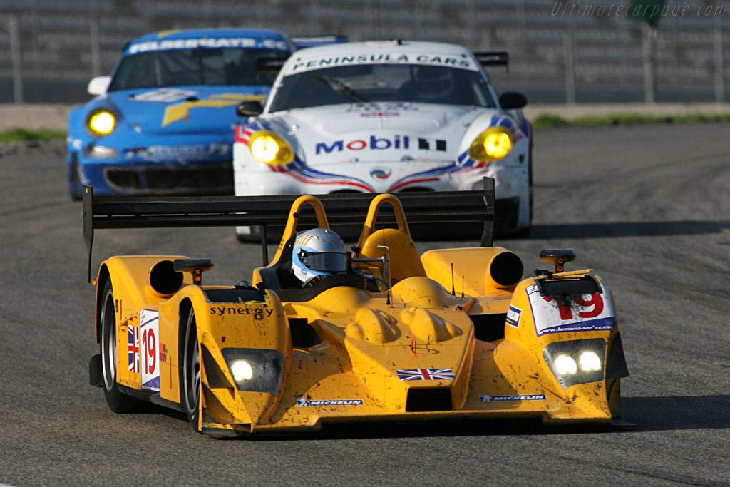 Lola B06/10 AER - Chassis: B0610-HU07 - Entrant: Chamberlain Synergy  - 2007 Le Mans Series Valencia 1000 km