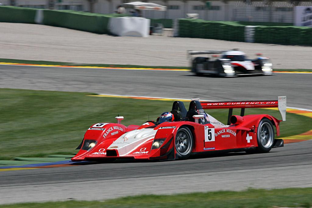Lola B07/10 Audi - Chassis: B0710-HU01 - Entrant: Swiss Spirit  - 2007 Le Mans Series Valencia 1000 km