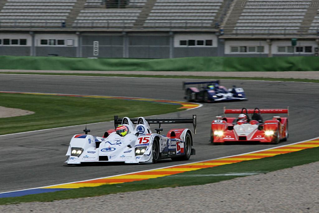 Lola B07/10 Judd - Chassis: B0610-HU03 - Entrant: Charouz Racing System  - 2007 Le Mans Series Valencia 1000 km
