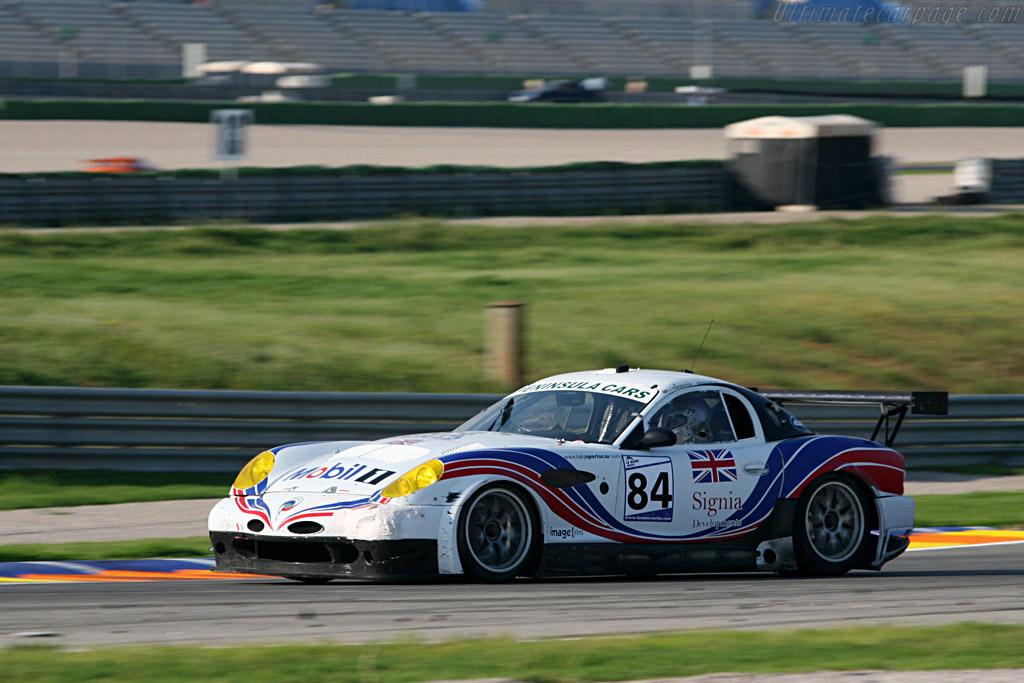 Panoz Esperante GTLM - Chassis: EGTLM 009 - Entrant: Chad Peninsula Panoz  - 2007 Le Mans Series Valencia 1000 km