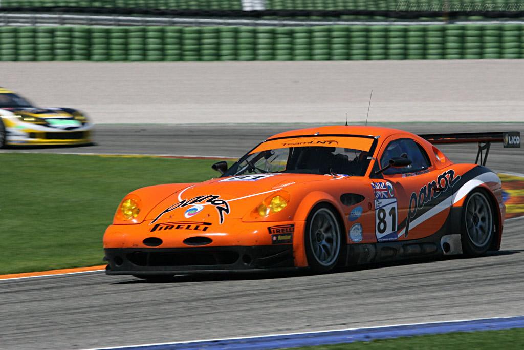 Panoz Esperante GTLM - Chassis: EGTLM 005 - Entrant: Team LNT  - 2007 Le Mans Series Valencia 1000 km