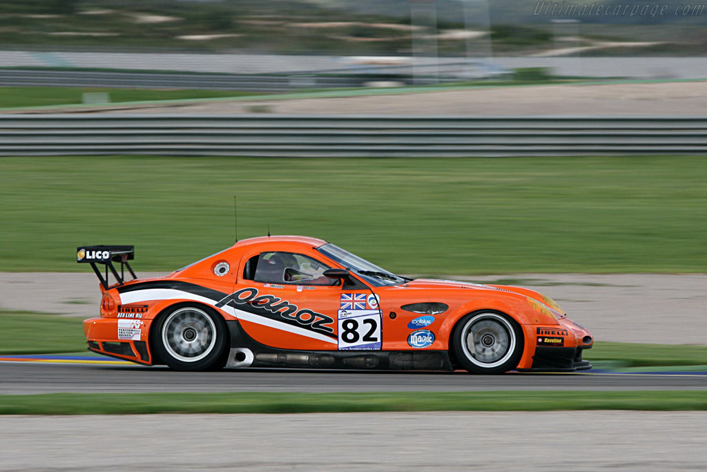 Panoz Esperante GTLM - Chassis: EGTLM 006 - Entrant: Team LNT  - 2007 Le Mans Series Valencia 1000 km