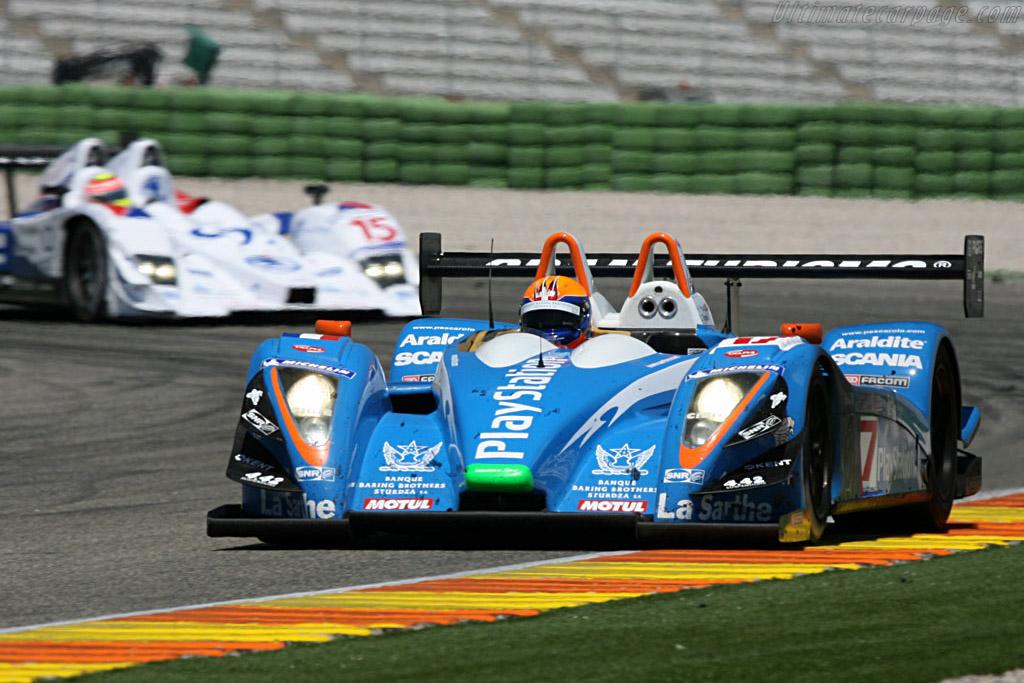 Pescarolo 01 Judd LMP1 - Chassis: 01-05 - Entrant: Pescarolo Sport  - 2007 Le Mans Series Valencia 1000 km