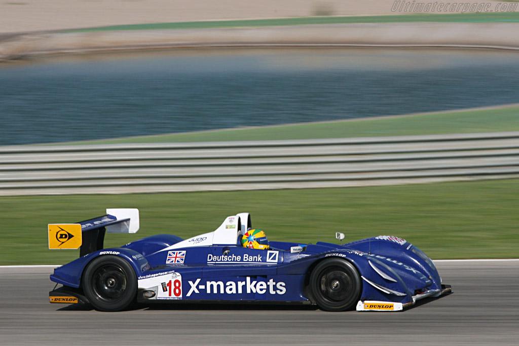 Pescarolo 01 Judd LMP1 - Chassis: 01-04 - Entrant: Rollcentre Racing  - 2007 Le Mans Series Valencia 1000 km