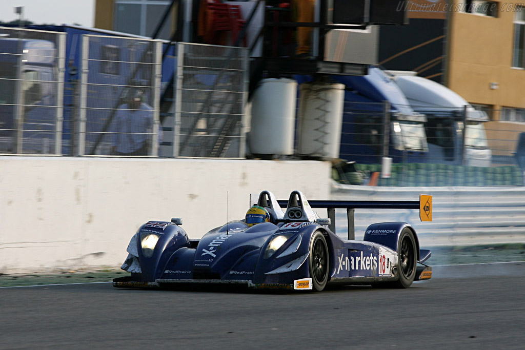 Pescarolo 01 Judd LMP1 - Chassis: 01-04 - Entrant: Rollcentre Racing  - 2007 Le Mans Series Valencia 1000 km