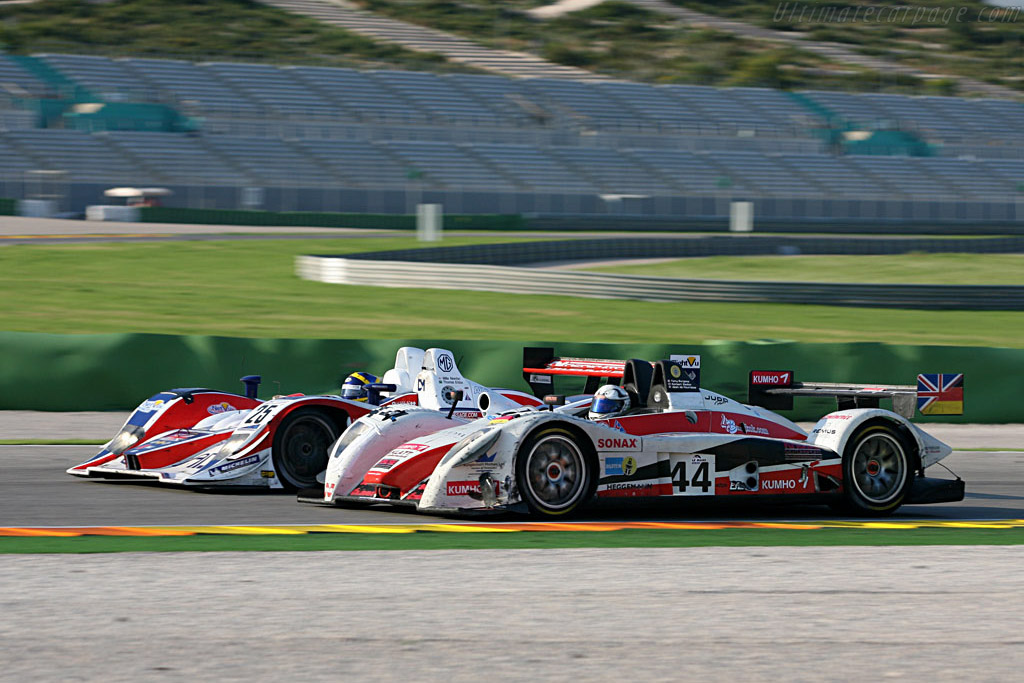 Pescarolo 01 LMP2 Judd - Chassis: 01-02 - Entrant: Kruse Motorsport  - 2007 Le Mans Series Valencia 1000 km