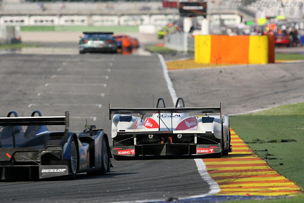 Pescarolo 01 LMP2 Judd - Chassis: 01-02 - Entrant: Kruse Motorsport  - 2007 Le Mans Series Valencia 1000 km
