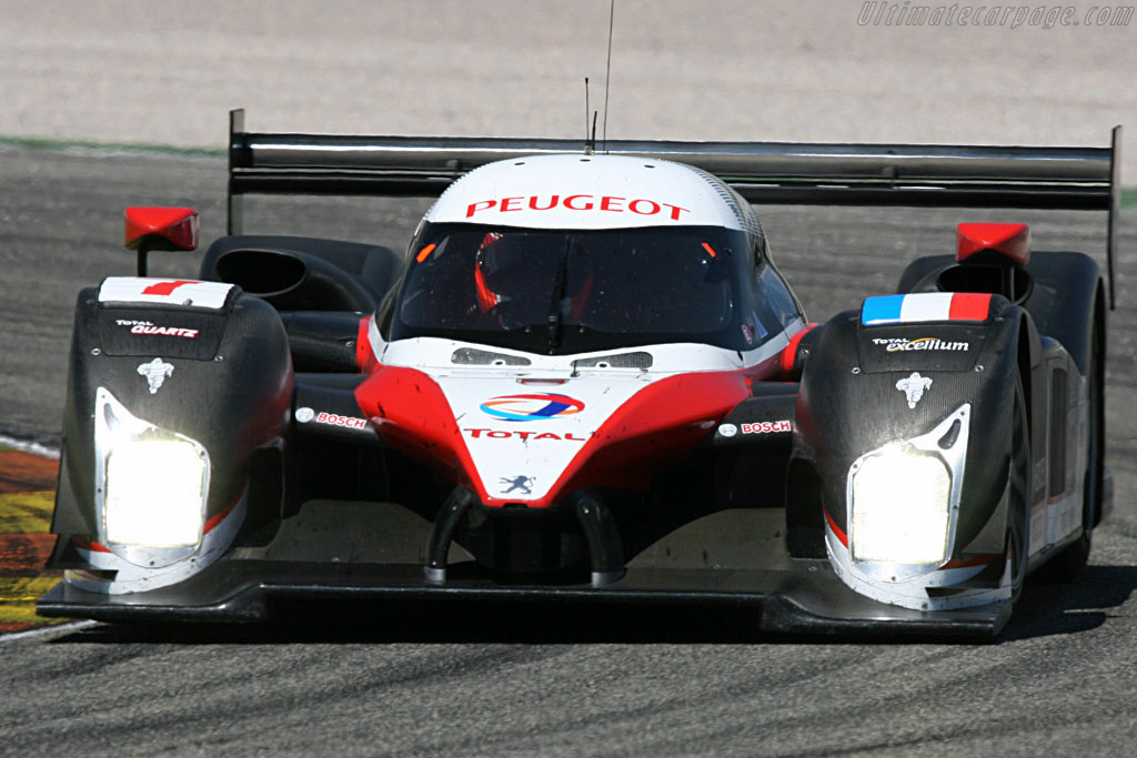 Peugeot 908 HDI FAP - Chassis: 908-02 - Entrant: Team Peugeot Total  - 2007 Le Mans Series Valencia 1000 km