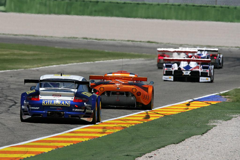 Porsche 997 GT3 RSR - Chassis: WP0ZZZ99Z7S799917 - Entrant: Thiery Perrier  - 2007 Le Mans Series Valencia 1000 km