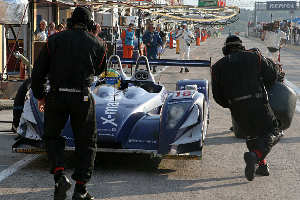 Post Mucke Pesca - Chassis: 01-04 - Entrant: Rollcentre Racing  - 2007 Le Mans Series Valencia 1000 km