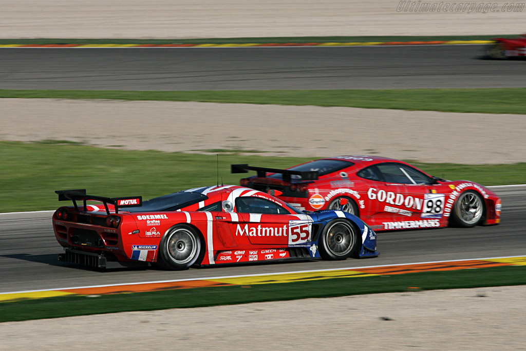 Saleen S7-R - Chassis: 066R - Entrant: Team Oreca  - 2007 Le Mans Series Valencia 1000 km