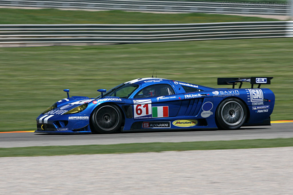 2007 Saleen S7 >> Saleen S7-R - Chassis: 080R - Entrant: Racing Box - 2007 Le Mans Series Valencia 1000 km